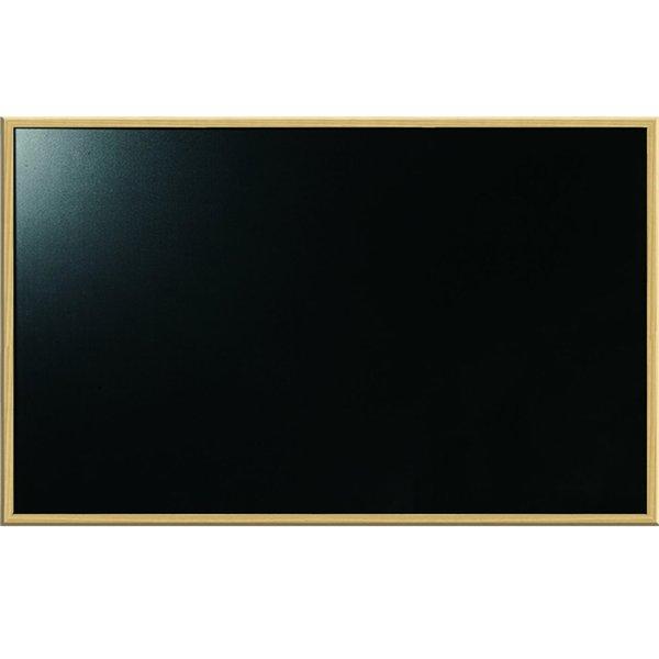 BLACKBOARD WOODEN FRAME 60 X 90 - OfficeTeq