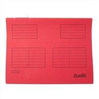 BANTEX SUSPENSION FILE A4 RED (25pcs)