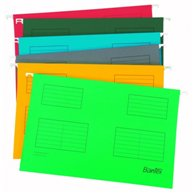 BANTEX SUSPENSION FILE F/C G/GREEN (25pcs)