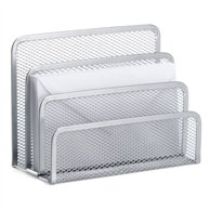 ENVELOPES STAND METAL SILVER