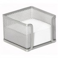 BASE FOR MEMO CUBE METAL SILVER