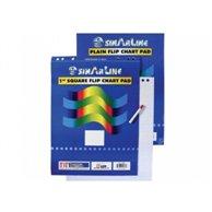 SINARLINE PLAIN FLIPCHART PAD A1