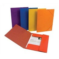 ELASTIC FILE CARD ORANGE