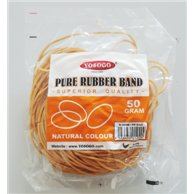 RUBBER BANDS 50GR KAOUTSOUK 100mmx1.4mm