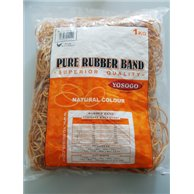 RUBBER BANDS 1KG KAOUTSOUK 100MMx1.4MM