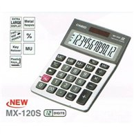 CASIO CALCULATOR 12 DIGITS MX-120S