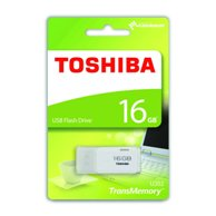 TOSHIBA FLASH DRIVE USB 2.0 16GB HAYABUSA U202 WHITE