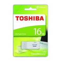 TOSHIBA FLASH DRIVE USB 2.0 16GB HAYABUSA U202 WHITE