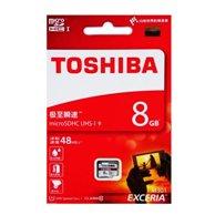 TOSHIBA MEM.MICRO SDHC SD 8GB M301 CLASS10