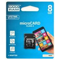 G-RAM MEMORY MICRO SDHC SD 8GB CLASS4