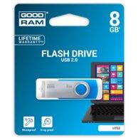 G-RAM FLASH DRIVE USB 8GB TWISTER UTS2 BLUE 920756