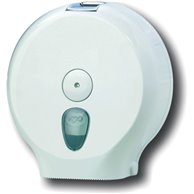 TOILET PAPER DISPENSER WHITE