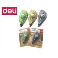DELI CORRECTION TAPE 5MMX8M ASSORTED BBL