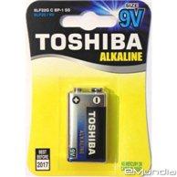 TOSHIBA ALKALINE BATTERIES 6LF22G 9V
