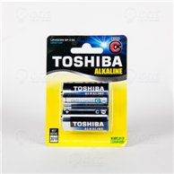 TOSHIBA BATTERIES LR14 (C) ALKALINE MEDIUM 2PCS