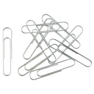 METAL PAPER CLIPS 80MM