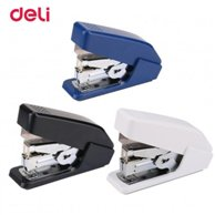 DELI EFFORTLESS STAPLER NO.10 FOR 15 SHEETS (SOFT TOUCH)