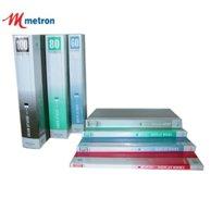 METRON A4 CLEAR BOOK 30 POCKETS