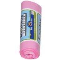 PLASTIC BAG PINK 42 X 50