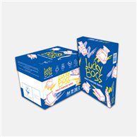 LUCKY BOSS COPY PAPER A4 80gr (Box of 5 Packs)