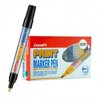 LUXOR PAINT MARKER 1-3MM WHITE (6PCS/PACK)