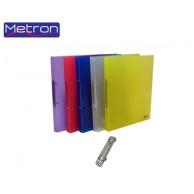 METRON TRANSPARENT RING FILE A5 2RINGS