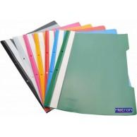 METRON FLAT FILE PLASTIC YELLOW (25PCS/PACK)