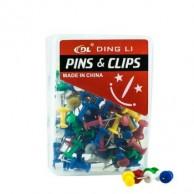 DL047 PUSH PINS 24MM (40PCS)