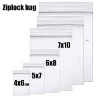 GROOVY ZIP BAGS 8X12CM (100PCS)