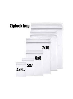 GROOVY ZIP BAGS 10X15CM (100PCS)