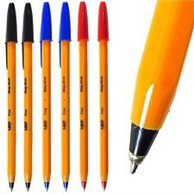 BIC ORANGE BLUE PEN