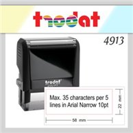 TRODAT STAMP 4913